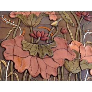 Tranh hoa sen - THS14